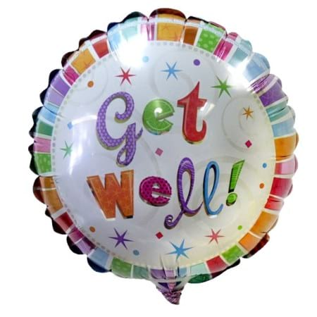 Get Well Soon Balloon (16cm)