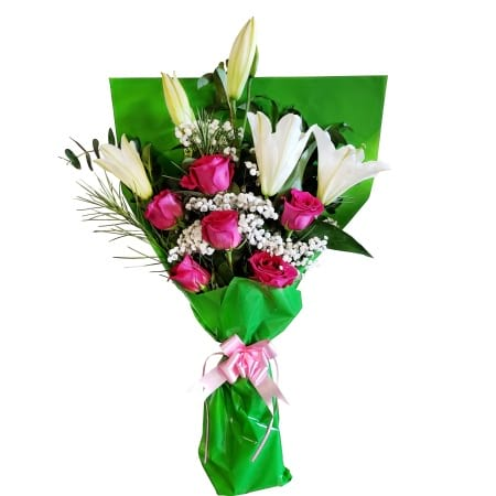 RBT302 Hot Pink Bouquet