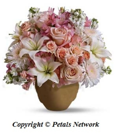 S31 Pink and white arrangement