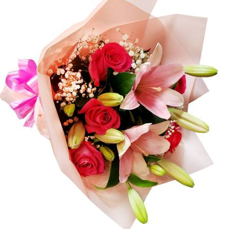 RBT252 Pink Bouquet