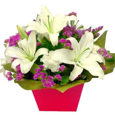 RBX108 Lily arrangement