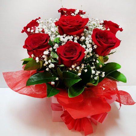 RBX311 Red Roses in Box