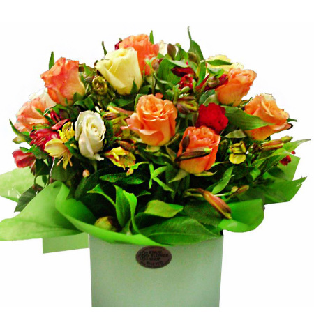 RBX138 bright rose box