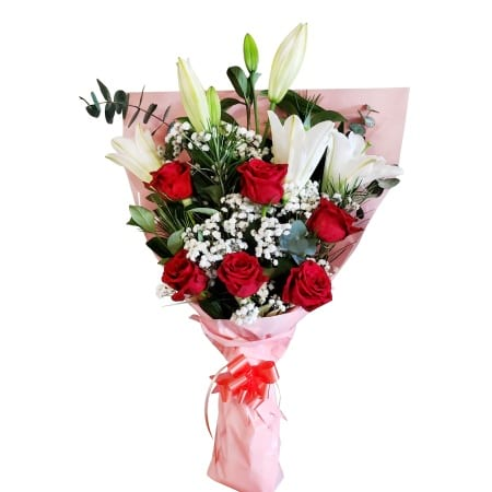 RBT303 Red Roses Bouquet