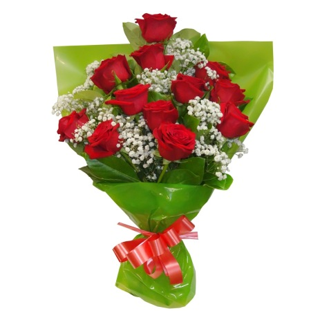RBT219 Red Roses Bouquet
