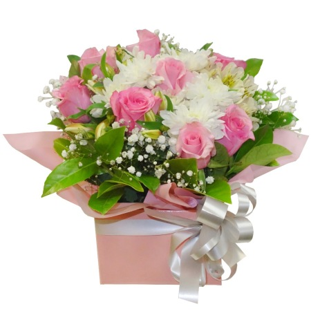RBX303 Pink and White Box