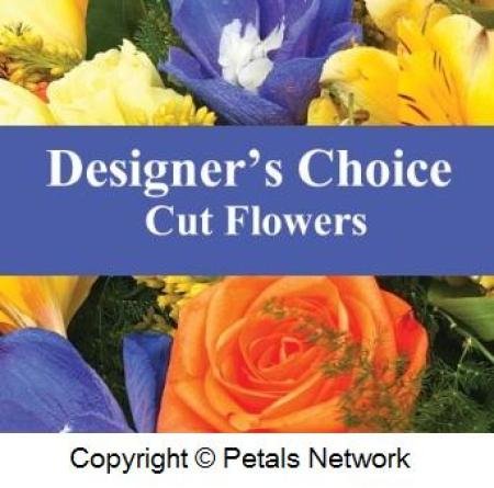 D1 Designer`s choice - box flower arrangement $39- $100