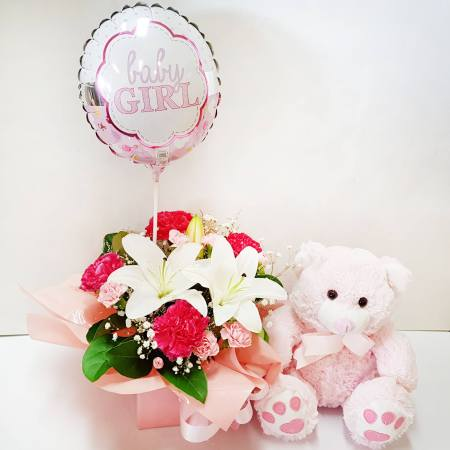 RBX358 Baby Girl Set