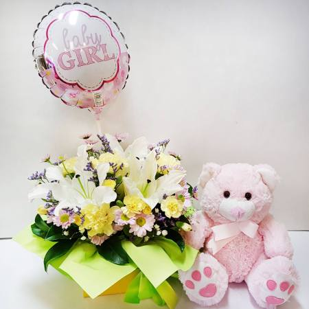 RBX363 Baby Girl Set